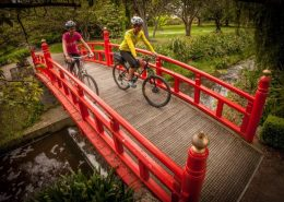 Oamaru Botanic Gardens Cycle Journeys