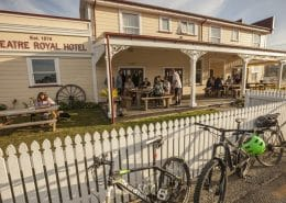 West Coast Cycle Trail Hotel Royal