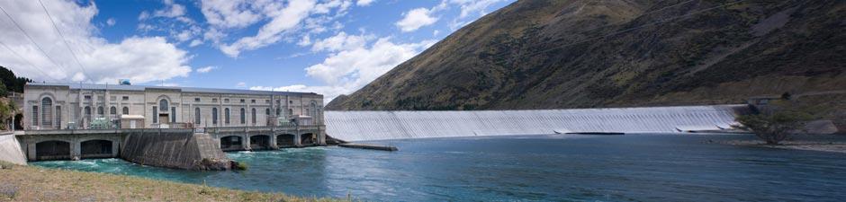Waitaki-Dam